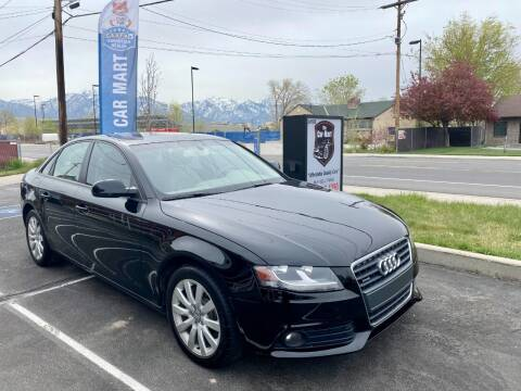 2012 Audi A4 for sale at The Car-Mart in Murray UT