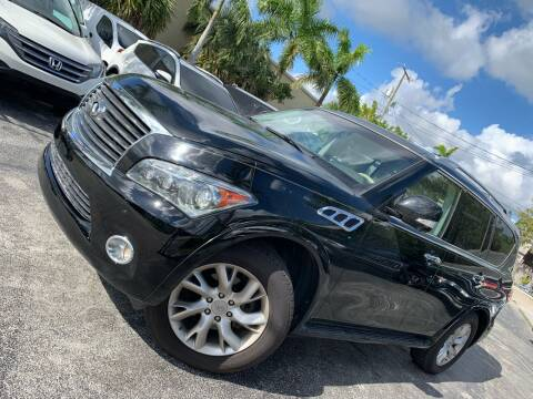 2011 Infiniti QX56 for sale at Citywide Auto Group LLC in Pompano Beach FL