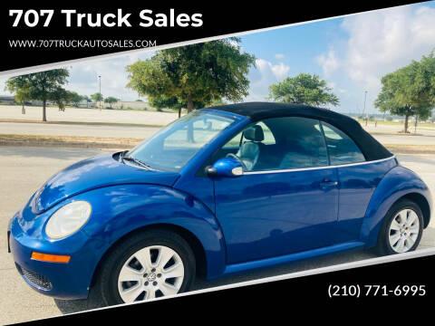 2008 Volkswagen New Beetle Convertible for sale at 707 Truck Sales in San Antonio TX