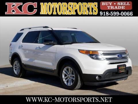 2013 Ford Explorer for sale at KC MOTORSPORTS in Tulsa OK