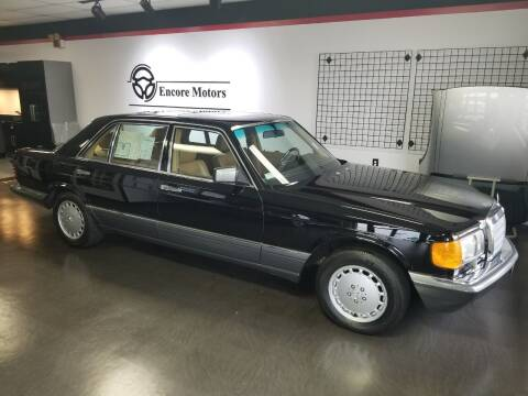 1989 Mercedes-Benz 420-Class for sale at Encore Motors in Macon GA