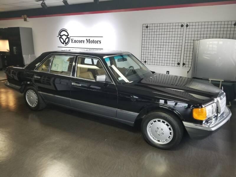 1989 Mercedes-Benz 420-Class for sale at Encore Motors in Macon GA