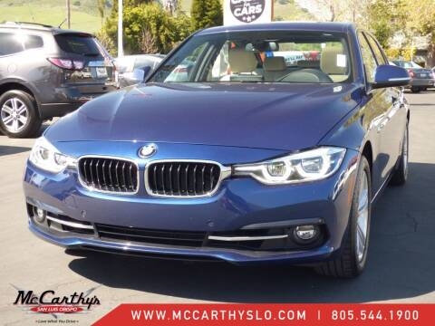2017 BMW 3 Series for sale at McCarthy Wholesale in San Luis Obispo CA