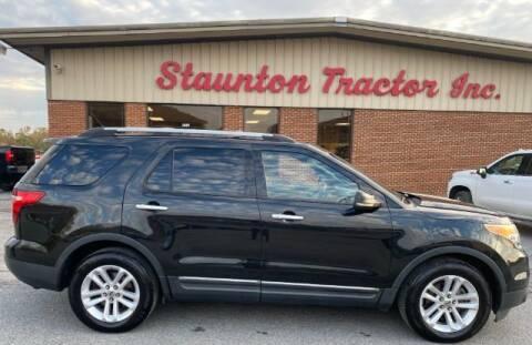 2011 Ford Explorer for sale at STAUNTON TRACTOR INC in Staunton VA