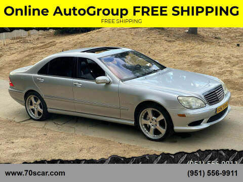 2005 Mercedes-Benz S-Class for sale at Online AutoGroup FREE SHIPPING in Riverside CA