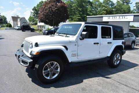 2020 Jeep Wrangler Unlimited for sale at AUTO ETC. in Hanover MA