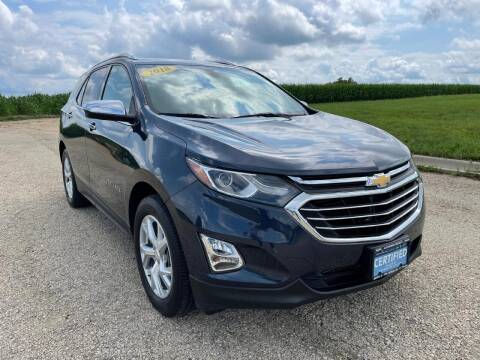 2018 Chevrolet Equinox for sale at Alan Browne Chevy in Genoa IL
