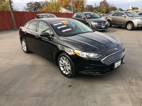 2017 Ford Fusion for sale at Mega Motors Inc. in Stockton CA
