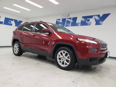 2017 Jeep Cherokee for sale at HILEY MAZDA VOLKSWAGEN of ARLINGTON in Arlington TX
