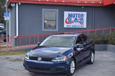 2012 Volkswagen Jetta for sale at Motor Car Concepts II - Kirkman Location in Orlando FL