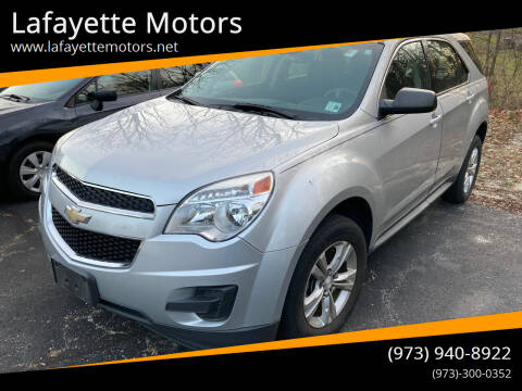2015 Chevrolet Equinox for sale at Lafayette Motors in Lafayette NJ