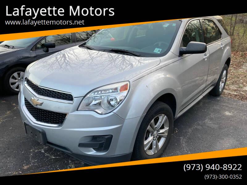 2015 Chevrolet Equinox for sale at Lafayette Motors in Lafayette NJ