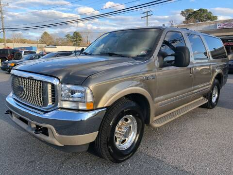 2002 Ford Excursion for sale at Mega Autosports in Chesapeake VA