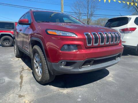 2014 Jeep Cherokee for sale at Auto Exchange in The Plains OH