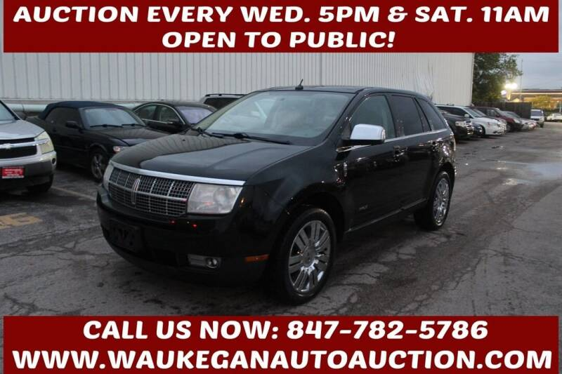 2008 Lincoln MKX for sale at Waukegan Auto Auction in Waukegan IL
