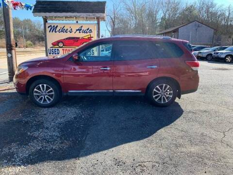 2013 Nissan Pathfinder for sale at Mike's Auto Sales in Westport MA