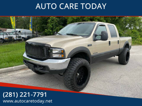 2001 Ford F-250 Super Duty for sale at AUTO CARE TODAY in Spring TX