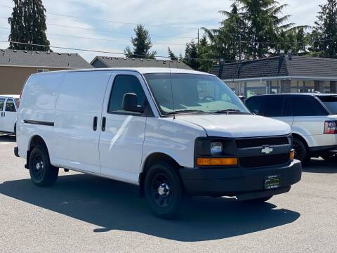 2012 Chevrolet Express Cargo for sale at Lux Motors in Tacoma WA