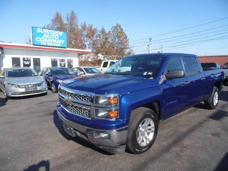2014 Chevrolet Silverado 1500 for sale at Surfside Auto Company in Norfolk VA