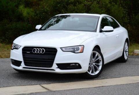 2015 Audi A5 for sale at Coast to Coast Imports in Fishers IN
