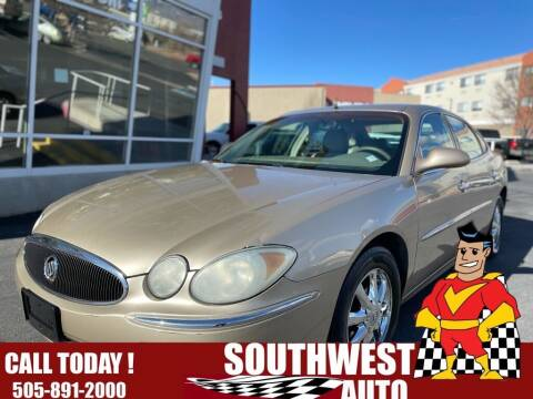 2005 Buick LaCrosse for sale at SOUTHWEST AUTO in Albuquerque NM
