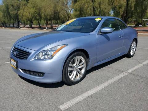 2009 Infiniti G37 Convertible for sale at ALL CREDIT AUTO SALES in San Jose CA