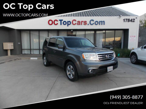 2012 Honda Pilot for sale at OC Top Cars in Irvine CA