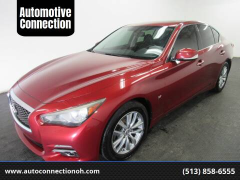 2014 Infiniti Q50 for sale at Automotive Connection in Fairfield OH