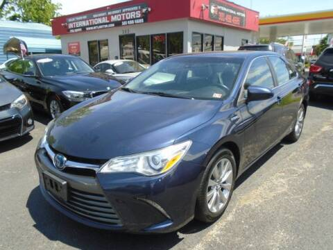 2016 Toyota Camry Hybrid for sale at International Motors in Laurel MD