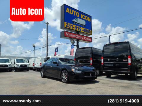 2015 Maserati Ghibli for sale at Auto Icon in Houston TX