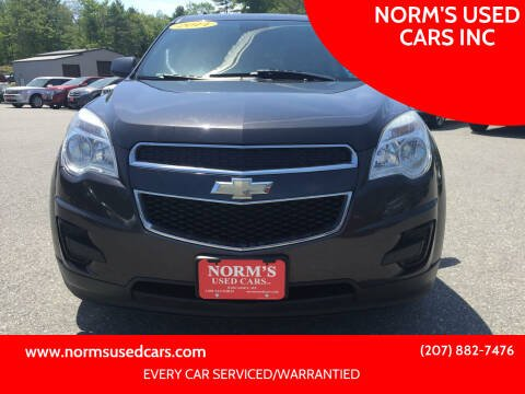 2014 Chevrolet Equinox for sale at NORM'S USED CARS INC in Wiscasset ME