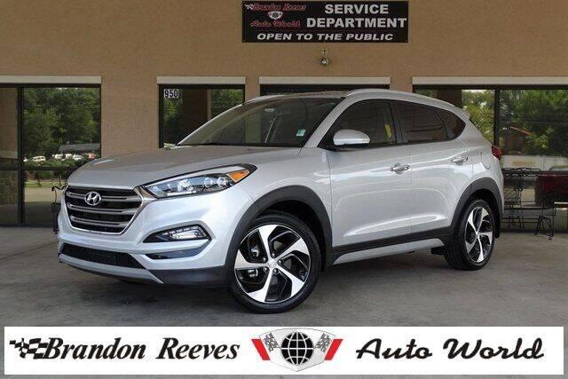 2018 Hyundai Tucson for sale at Brandon Reeves Auto World in Monroe NC