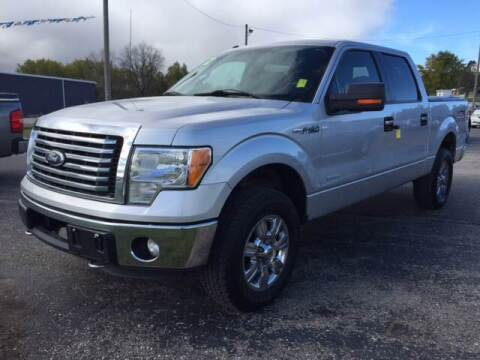 2012 Ford F-150 for sale at Paris Auto Sales & Service in Big Rapids MI