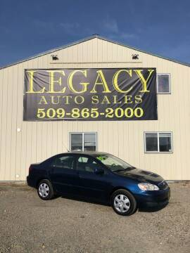 2005 Toyota Corolla for sale at Legacy Auto Sales in Toppenish WA