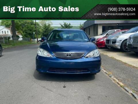 2006 Toyota Camry for sale at Big Time Auto Sales in Vauxhall NJ