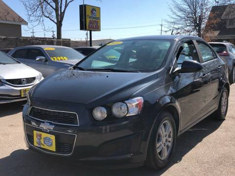 2014 Chevrolet Sonic for sale at El Tucanazo Auto Sales in Grand Island NE