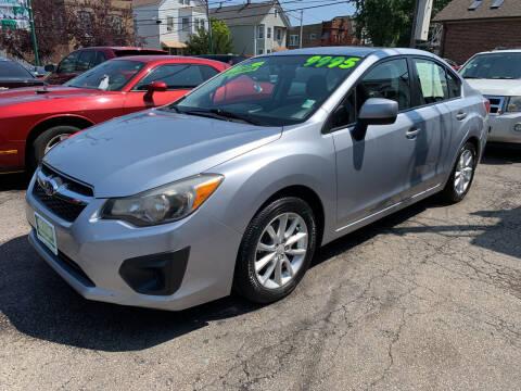 2013 Subaru Impreza for sale at Barnes Auto Group in Chicago IL
