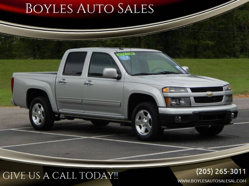 2012 Chevrolet Colorado for sale at Boyles Auto Sales in Jasper AL