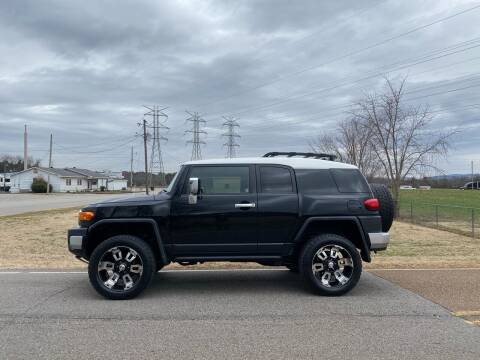 2007 Toyota FJ Cruiser for sale at Tennessee Valley Wholesale Autos LLC in Huntsville AL