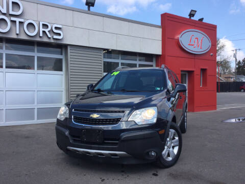 2014 Chevrolet Captiva Sport for sale at Legend Motors of Detroit in Detroit MI