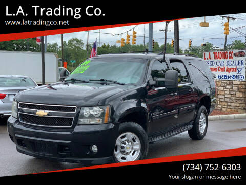 2009 Chevrolet Suburban for sale at L.A. Trading Co. Woodhaven in Woodhaven MI