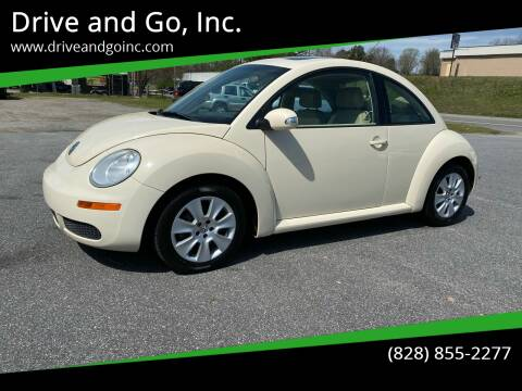 2009 Volkswagen New Beetle for sale at Drive and Go, Inc. in Hickory NC