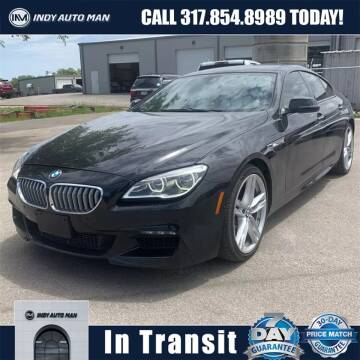 2016 BMW 6 Series for sale at INDY AUTO MAN in Indianapolis IN