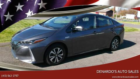 2019 Toyota Prius Prime for sale at DeNardo's Auto Sales in Westfield MA