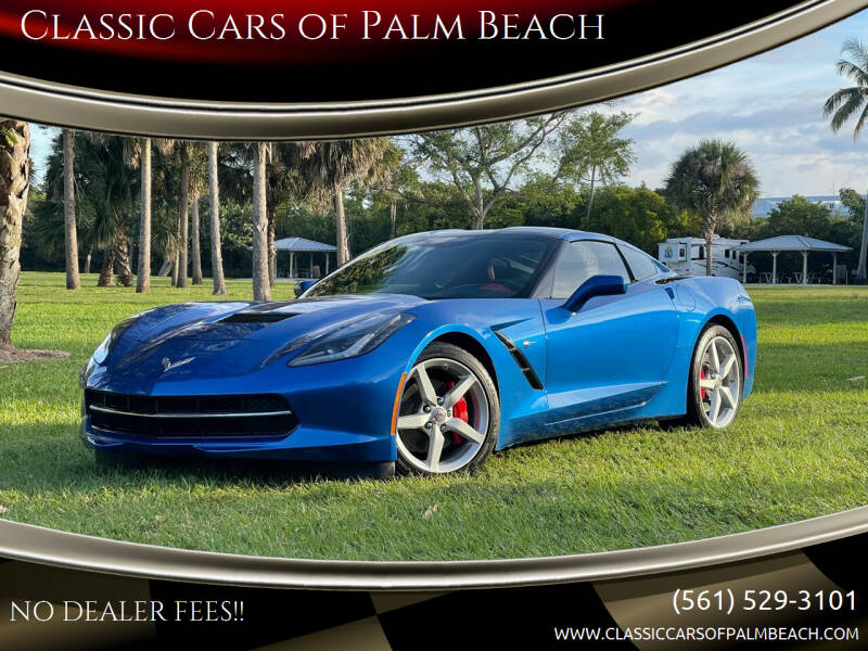 2014 Chevrolet Corvette for sale at Classic Cars of Palm Beach in Jupiter FL