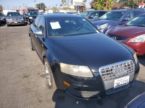 2007 Audi S6 for sale at McHenry Auto Sales in Modesto CA