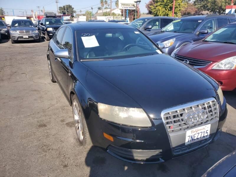 2007 Audi S6 for sale at McHenry Auto Sales in Modesto CA