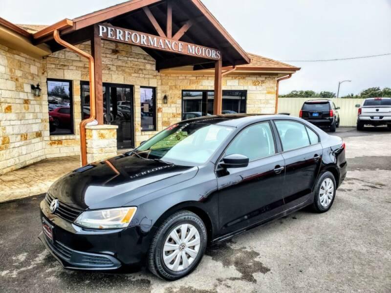 2012 Volkswagen Jetta for sale at Performance Motors Killeen Second Chance in Killeen TX