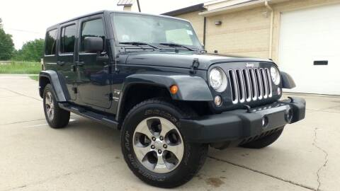 2017 Jeep Wrangler Unlimited for sale at Prudential Auto Leasing in Hudson OH