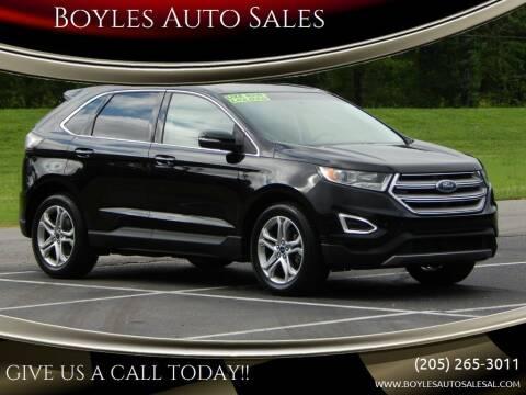 2017 Ford Edge for sale at Boyles Auto Sales in Jasper AL